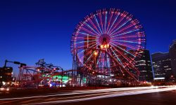 Japan Yokohama Feris Wheel